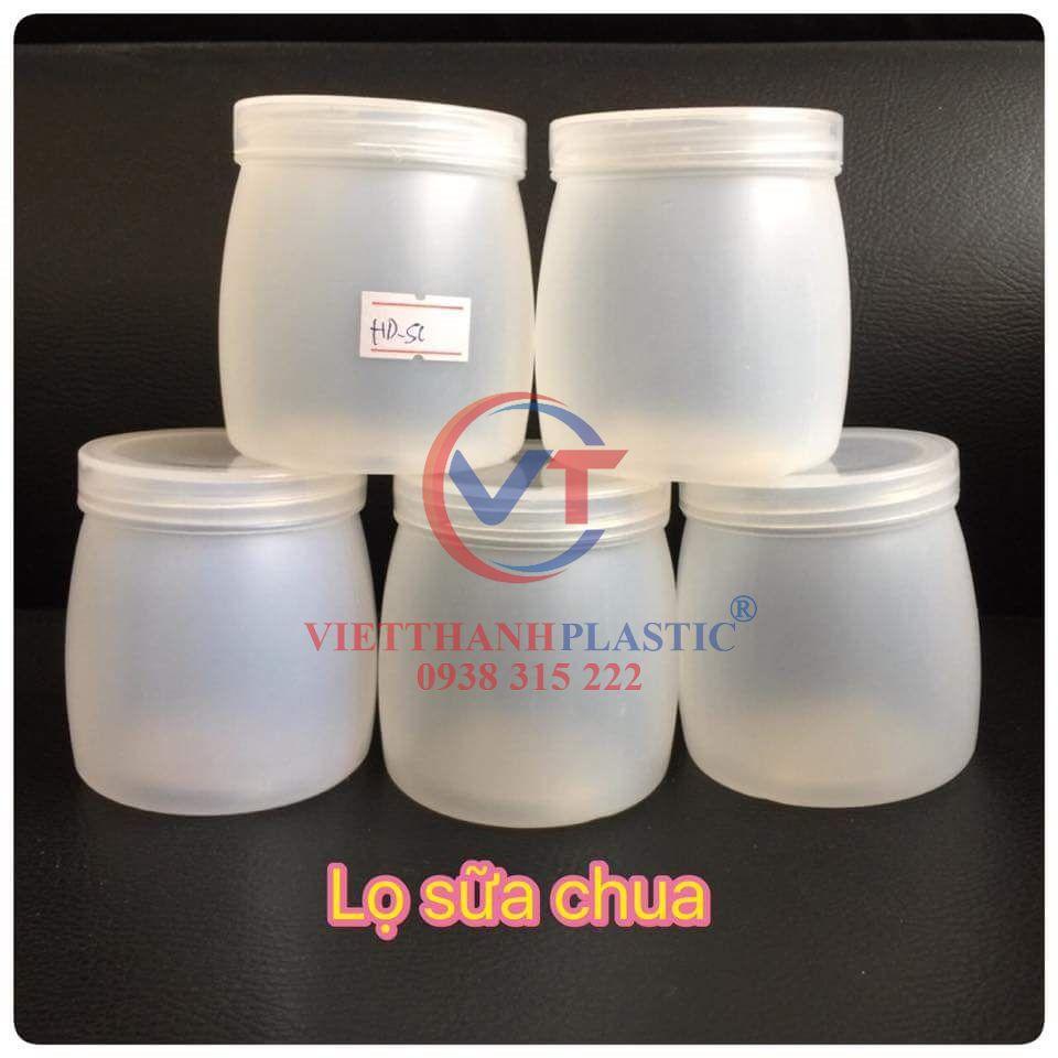 Hũ nhựa đựng sữa chua nếp cẩm - Nhựa Việt Thành - Nhà sản xuất sóng nhựa,  thùng nhựa, pallet nhựa công nghiệp