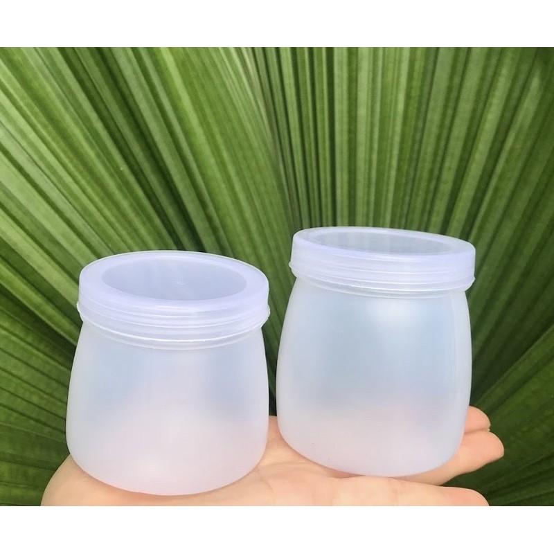 Hũ nhựa đựng sữa chua kèm nắp (10 hộp) giá cạnh tranh