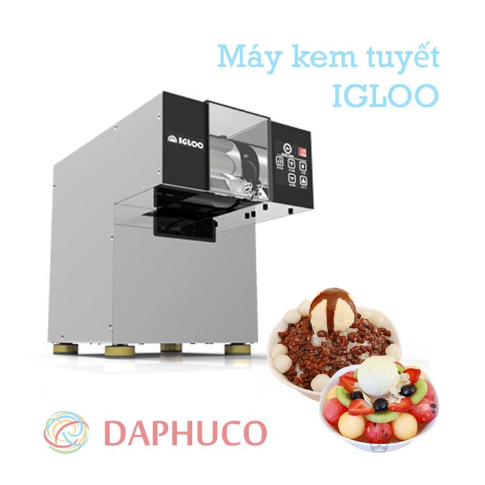 Máy làm kem tuyết igloo chính hãng từ Hàn Quốc